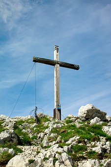 Mountain, Summit, Summit Cross, Bavaria, Hike, Hiking