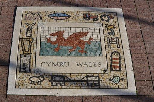 Wales, Emblem, National, Symbol, Flag, United, Welsh