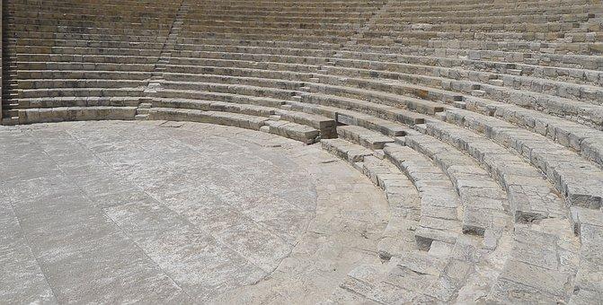 Theatre, Amphitheatre, Cyprus, Greek, Ancient Times
