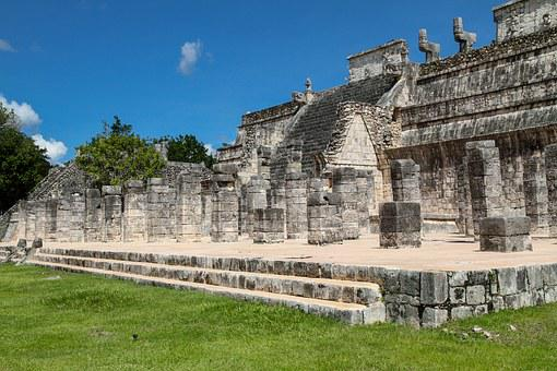 Mexico, The Ruins Of The, Chichen Itza, The Mayans