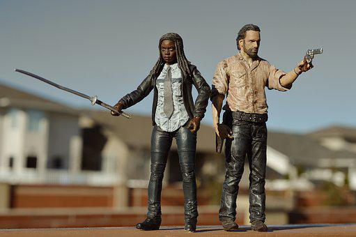 Walking Dead, Tv, Television, Rick Grimes, Michonne