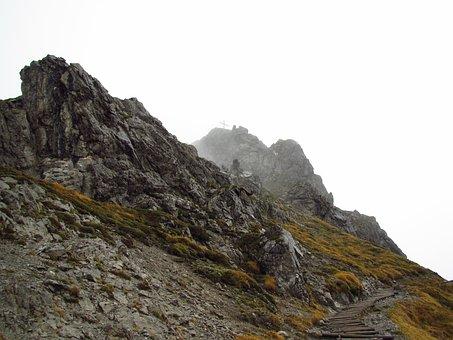 Kanzelwand, Summit Cross, Steinig, Alpine