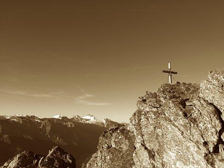 Rastkogel, Summit, Zillertaler Alpen, Zillertal