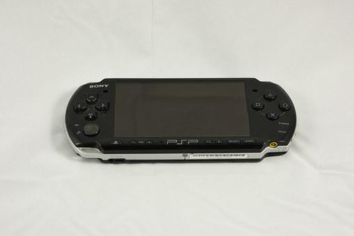 Psp, Playstation, Video Game, Handheld, Console