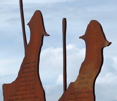 Memorial, Anzac, Walkway, Newcastle, Bar Beach