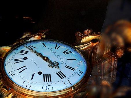 Chronometer, Gold, Chain, Mechanics, Metal, Hour