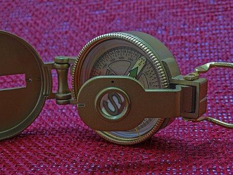 Compass, Cardinal Points, Metal