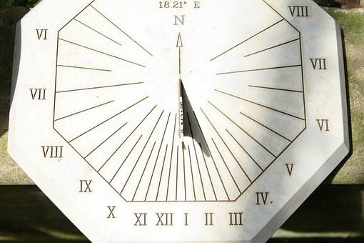 Sun, Dial, Sundial, Time, Watch, Clock, Old, Antique