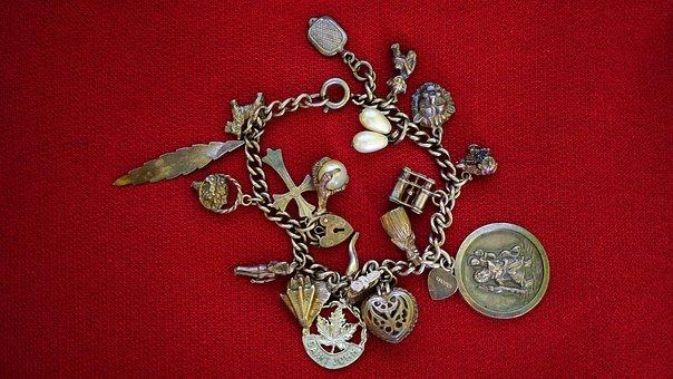 Silver, Jewellery, Metal, Precious, Old, Treasure