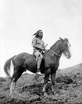 Indians, Warrior, Reiter, Native American, Apache