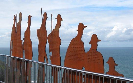 Anzac, Walkway, Newcastle, Bar Beach, Australia, Bridge