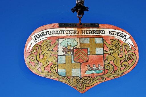 Arcangues, Basses-pyrénées, Basque Country, Emblem