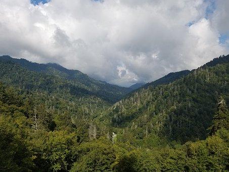 Mountain, Sun, Valley, Nature, Landscape, Travel