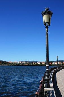 Street Lamp, Old Streetlight, Promenade, Spain