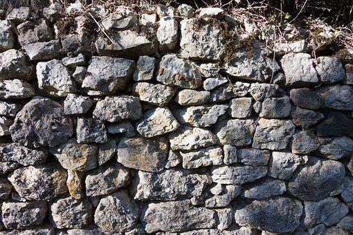 Wall, Stone, Natural Stone, Stone Wall, Masonry, Fund