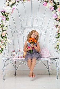 Child, Pretty, Young, Girl, Room, White, Cute, Happy