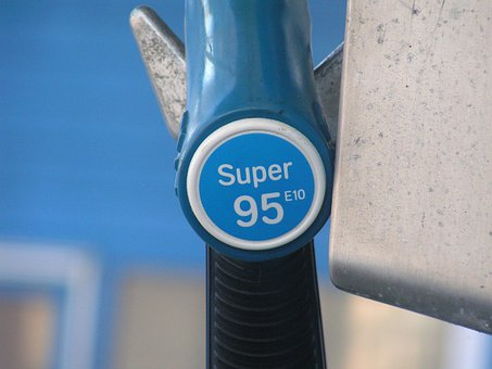 Diesel, E10, Petrol Pump, Refueling, Gasoline, Blue