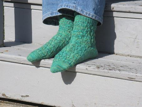 Knitting, Hand Knitting, Socks, Yarn, Knit, Handmade