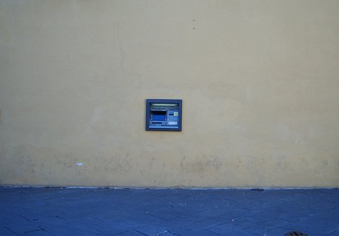 Atm, Cash Point, Money, Italy, Bank, Machine, Finance