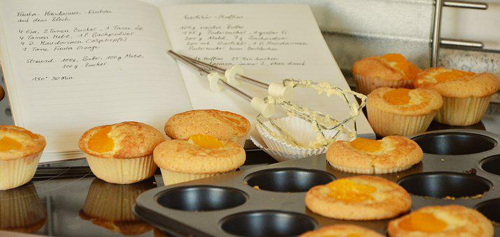 Muffins, Bake, Cake, Small Cakes, Cupcakes, Muffin Form