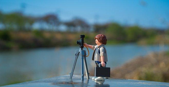 Playmobil, Photography, Photographer, Ex 4, Tripod