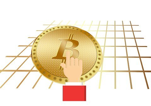 Hand, Finger, Show, Touch, Bitcoin, Coin, Money