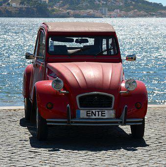 Oldtimer, Duck, Auto, Old, Drive, Classic, Vehicle