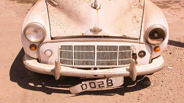 Morris, Car, Old Abandoned, Rusty, Vintage, British