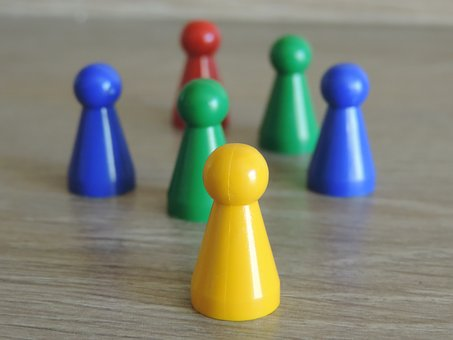 Game Figure, Children's, Play, Toys, Colorful, Fun