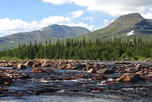 Swedish Mountains, Handölan, Tväråklumpen, Getryggen