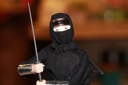 Ninja, Japan, Sword, Blade, Japanese, Asia, Samurai