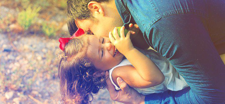 Parents And Children, Happiness, Love, Games