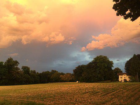 Storm, Landscape, Rolle, Light, Storm Clouds, Summer