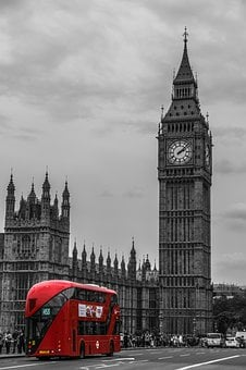 London, Bus, Double Decker Bus, Street Scene, Traffic