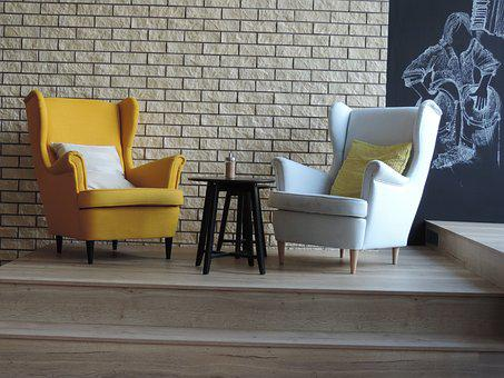 Armchair, Cafe, Furniture, Restaurant, Interior, Modern
