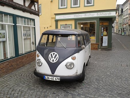 Vw Bus, Old, Old Town