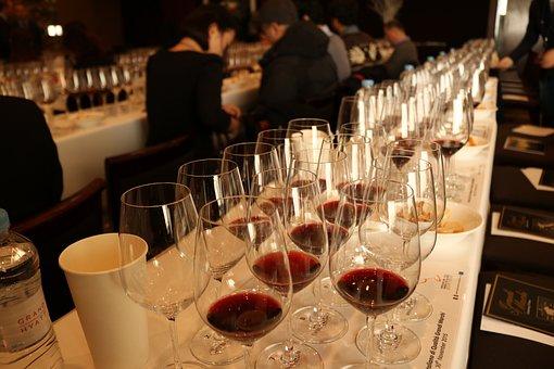 Wines, Tasting, Glass, Red Wine, Restaurant, Sommelier