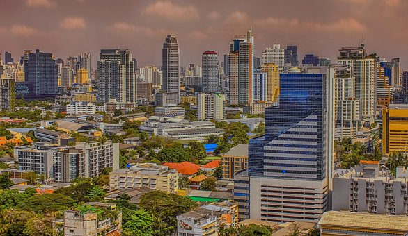 Bangkok, Thailand, City, Capital Of Thailand