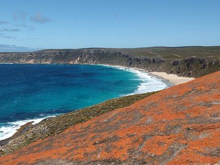 Sea, Australia, Remarkable Rocks, Kangaroo Island