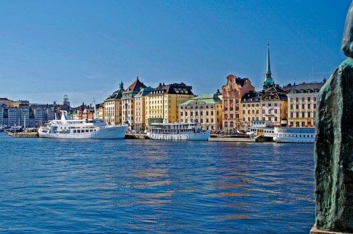 Stockholm, Sweden, Europe, City, Swedish, Scandinavia