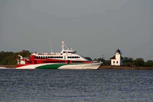 Seafaring, Movement, Ferry, Passenger Ship, Navigation