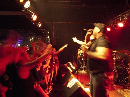 Concert, Underground, Rock, Band, Sound, Musician