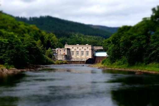 Hydroelectric, Power Station, Energy, Power, Station