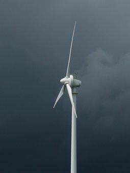 Pinwheel, Forward, Thunderstorm, Energy, White, Clouds