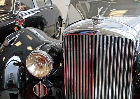 Oldtimer, Bentley, Grille, Old Cars, Frontal