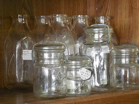 Canning, Jars, Glass, Homemade, Food, Canned, Healthy