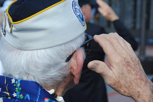 Veteran, Vet, Pearl Harbor, Survivor, Salute, Saluting