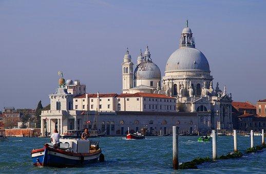Venice, Santa Maria Della Salute, Punta Della Dogana