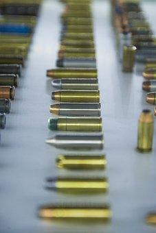Bullet, Gold, Gun, Metal, Caliber, Weapon, Copper, Lead