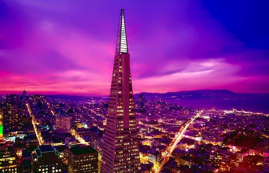 San Francisco, California, City, Urban, Cityscape